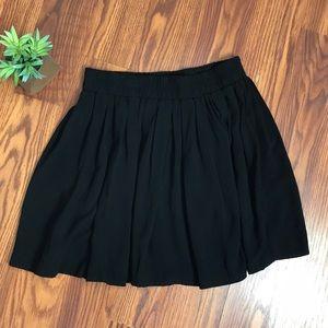 EUC Brandy Melville black skater skirt